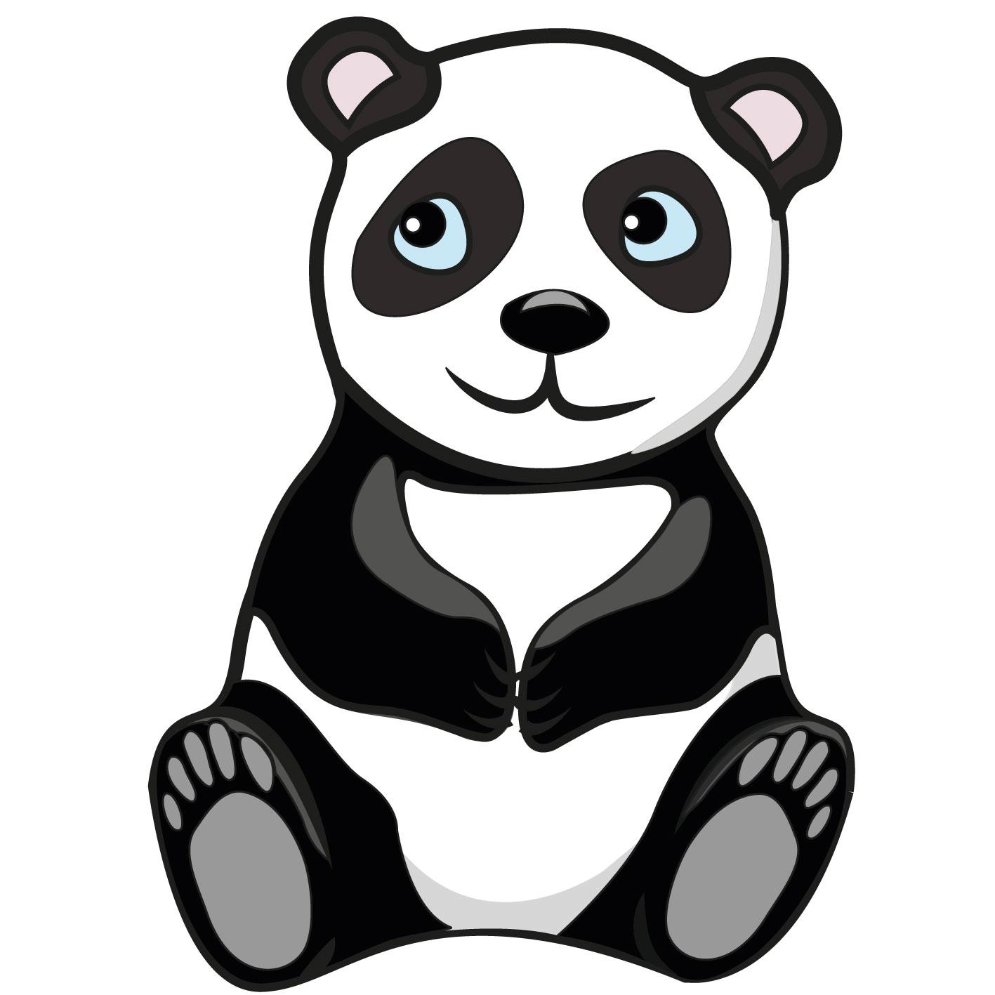 Bonito Oso Panda Oso Panda ¿qué Ves Para Colorear Friso - Dibujos ...